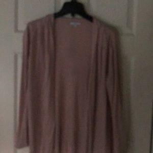 Gap light weight cardigan women's xl. Blush color
